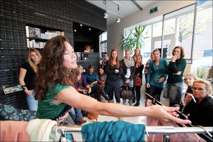 tanja hoff styling kledingstyliste ruilbeurs little green dress kledingadvies